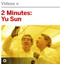 NSERC Presents 2 Minutes with Yu Sun