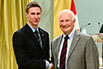 Rowan Cockett, The University of British Columbia; His Excellency the Right Honorable David Johnston, Governor General of Canada