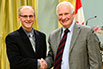 Carey Simonson, University of Saskatchewan; His Excellency the Right Honorable David Johnston, Governor General of Canada