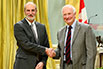 Luc Deslandes, Voith Hydro Inc.; His Excellency the Right Honorable David Johnston, Governor General of Canada