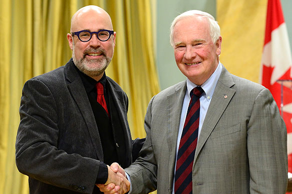 Mark Surman, Mozilla Foundation; His Excellency the Right Honorable David Johnston, Governor General of Canada