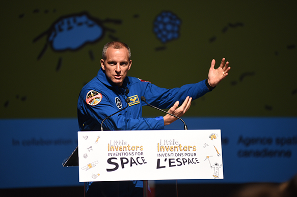 David Saint-Jacques, astronaute canadien