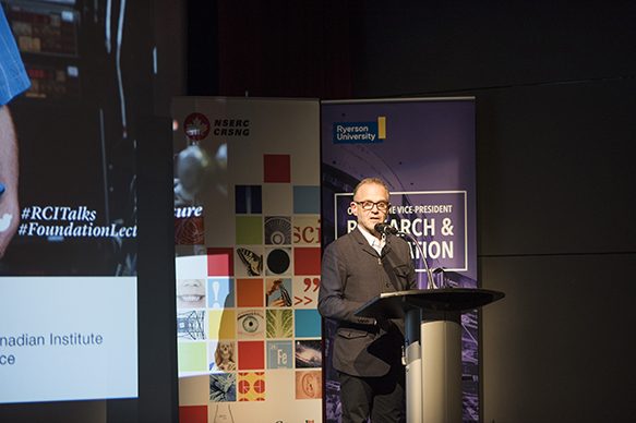 Dr. Steven Liss, Vice President of Research and Innovation at Ryerson