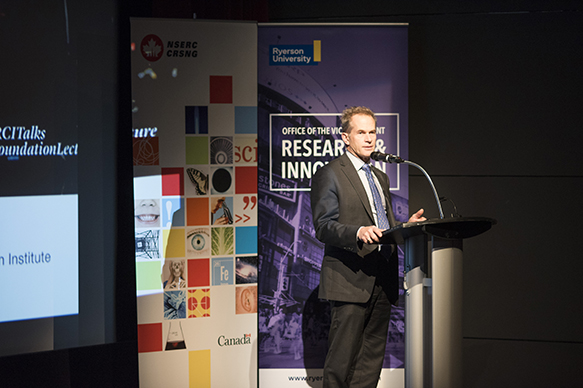 Alfred LeBlanc, Vice President, Communications, Corporate and International Affairs, NSERC