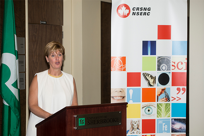 The Honourable Marie-Claude Bibeau, Minister of International Development and La Francophonie