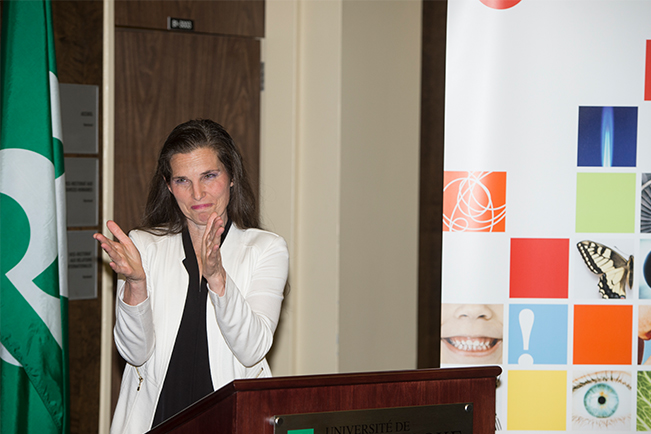 The Honourable Kirsty Duncan, Minister of Science and Sport