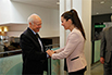The Honourable Kirsty Duncan, Minister of Science and Sport with Jean-Marie De Koninck, Professeur émérite, Université Laval and NSERC Awards for Science Promotion Individual Recipient
