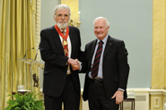 Dr. Ford Doolittle and David Johnston