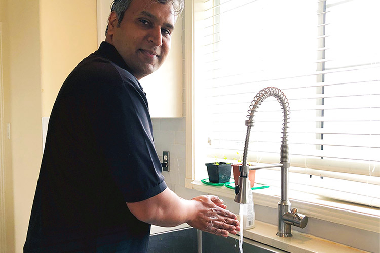 UVic project promotes safer, more prevalent hand washing